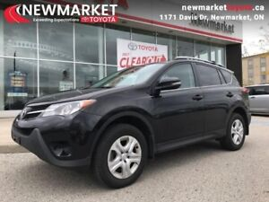 2013 Toyota RAV4 LE  - one owner - local - trade-in - $70.94 /Wk