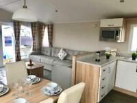 **Brand new 2019 model Free sites 6 berth static holiday home Ayrshire Coast**