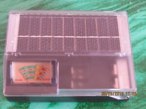 NEW solar universal battery charger and tester