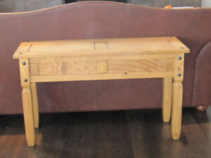 SANTE FE STYLE SOLID PINE SOFA TABLE