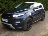 RANGE ROVER EVOQUE 2.2SD4, 4WD AUTO DYNAMIC LUX, 29000 MILES ONLY