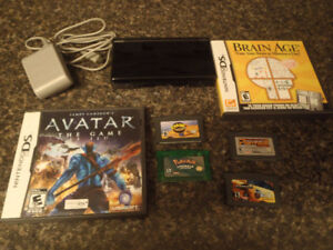 Nintendo Ds lite with pokemon and other games