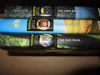Warriors series Dawn of the Clans 3 books