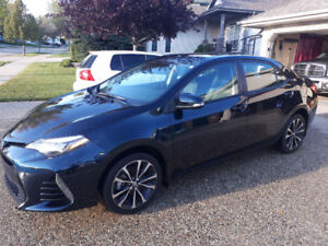 2017 TOYOTA COROLLA XSE (WITH WINTER TIRES)