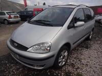 FORD GALAXY 2.3 GHiA~Y'2001~5 DOOR MPV~MANUAL~STUNNING SILVER~7 SEATER