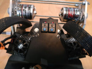 Complete setup for electric Trampa MountainBoard