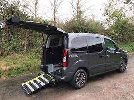 2013 Peugeot Partner Tepee HORIZON S AC WHEELCHAIR ACCESSIBLE VEHICLE 5 door ...