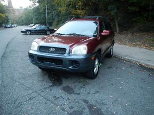 2003 Hyundai Santa Fe GLS SUV, Crossover