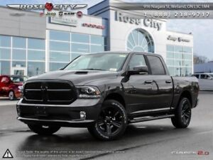 2018 Ram 1500 Night  - Leather Seats -  Cooled Seats