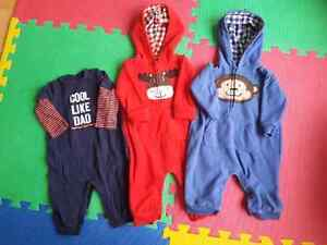 Boys 6 month rompers