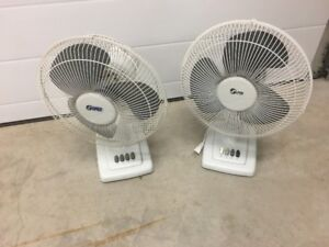 For Sale: 2 Household Fans