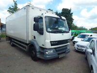DAF TRUCKS LF 15 ton ideal recovery horse box 55 220 with taillift 2009