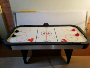 Winnwell Air Hockey Table and accessories