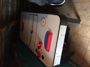 Table d'air hockey