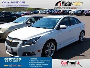 2013 Chevrolet CRUZE LT TURBO *RS|LEATHER|SUNROOF*