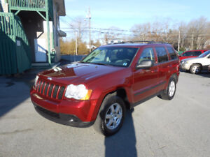 2008 JEEP GRAND CHEROKEE LAREDO SUV,2 YEAR WARRANTY INCLUDED