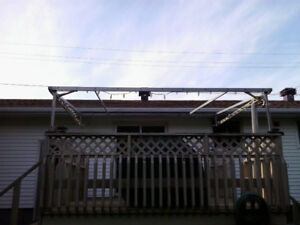 ALUMINUM METAL AWNING FRAME FOR SALE