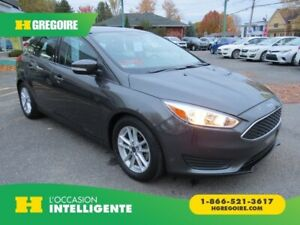 2016 Ford Focus SE MAN A/C MAGS CAMERA BLUETOOTH GR ELECTRIQUE