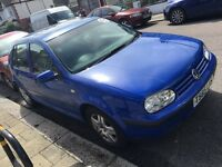Vw golf 1.6 automatic swap