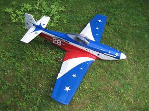P-51 D Miss america  modele reduit