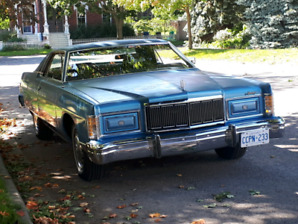 1978 Mercury Marquis Meteor 2 door