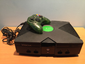 Xbox original + 13 jeux