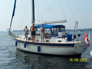 37 Irwin Sailboat