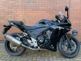 2014- HONDA CBR500R 500 RA - E - ONLY 12K MILES - MOTORBIKE - BLACK - A2 - ABS