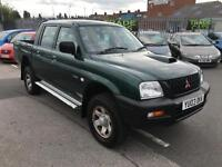 Mitsubishi L200 2.5 TURBO DIESEL 4X4 PICK UP TRUCK JEEP - 94K & JULY 17 MOT