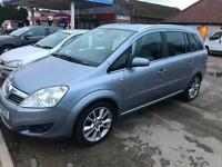 2007 Vauxhall/Opel Zafira 2.2i 16v Direct auto 2007.5MY Design - 8 Service Stamp
