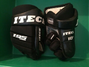 Boys Hockey Gloves 10""