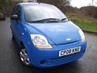 2008 08 CHEVROLET MATIZ 0.8 S 5D 51 BHP ** YES ONLY DONE 16,312 MILES **