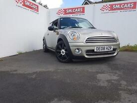 2008 08 MINI COOPER D WTH CHILLI PACK,GREAT COLOUR.FULL S/H.NEW CLUTCH&FLYWHEEL,