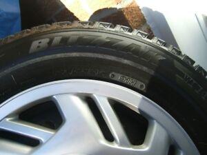 Bridgestone Blizzak 195/65-15