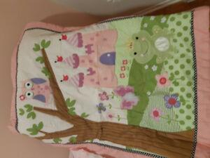 Draps pour bassinette bébé fille