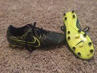 Nike Performance MAGISTA ONDA FG - Football boots - dark citron/black/volt. Size 7