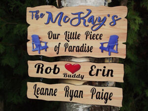 VACATION HOME SIGN