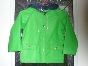 Classic Rain Coat  Size 3-6? Reversible