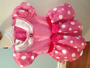 Minnie mouse dress with head band.