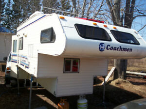 Coachman 11.5' Full size truck camper  /car tow dolly/etc.