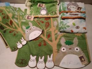 Totoro Towel Pillow Cushion Kiki's Delivery Service Japan