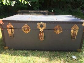 Beautiful Old Vintage Trunk