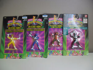 Mighty Morphin Power Rangers 1993 Collectible Figures