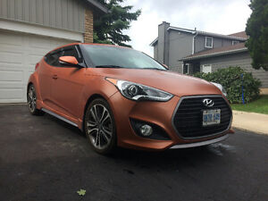 2016 Hyundai Veloster Turbo Matte orange