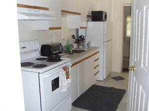 1-bdr. w/DEN, PATIO, easy walk to Queens/Hospitals/Downtown