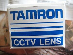 Tamron CCTV lens new cs-mount 8mm f1.2 for video cameras