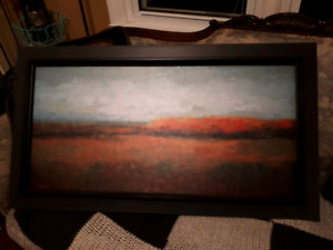 Large canvass painting