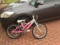 """Girls bicycle 20"""""""