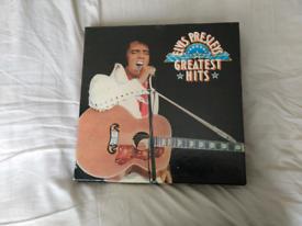 Elvis Presley LP collection rate