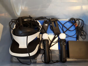 Like new ps4 VR headset!